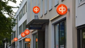 Andelsbankens kontor i Ekenäs.