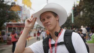 Johannes med stetson-hatt