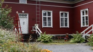 Innergården på Strömsö