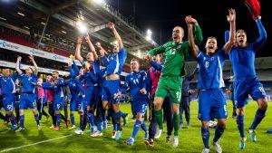Island klart för playoffskvalet