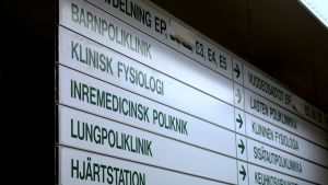 E-byggnaden på Vasa centralsjukhus