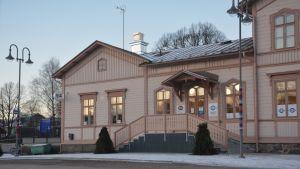 Stationsbyggnaden i Ekenäs