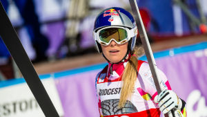 Lindsey Vonn etta i Garmisch.