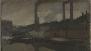 Die königliche Wachskerzenfabrik, um 1895-1899