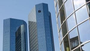 Deutsche Banks huvudkontor i Frankfurt