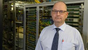 VD Gustaf Forsberg vill erbjuda optisk fiber till alla Lovisabor