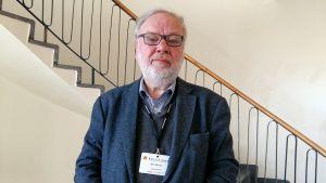 Björn Månsson i Hangö i anslutning till Folktingets session där 12-13.5.2017