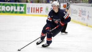 Jack Eichel är det senaste NHL-namnet i USA:s VM-trupp.