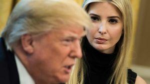 Donald och Ivanka Trump.