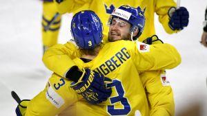John Klingberg och Oliver Ekman Larsson, ishockey-VM 2017.