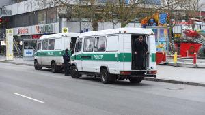 Tysk polis i Berlin den 20 december 2016