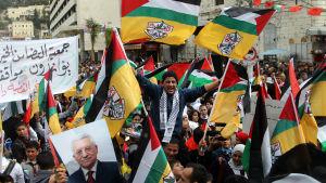Abbas supportrar