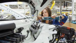 Biltillverkning vid Valmet Automotive