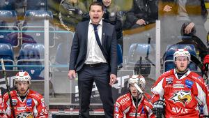 Tomek Valtonen, chefstränare för Vasa Sport