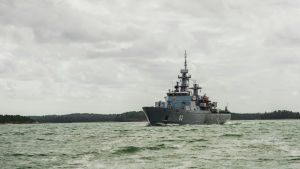 Minfartyget Hämeenmaa.