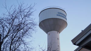 Vattentornet i Kronoby.