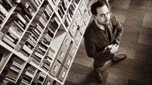 Kirjailija, toimittaja Philip Teir