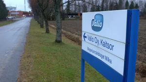 Valios fabrik i Kaitsor