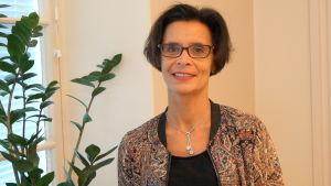 Maria Aho, enhetschef för vuxensocialarbetet i Jakobstad.