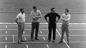 Björn Federley, Kaj Boström, Per-Henrik Nyman och Chrsiter Bonn