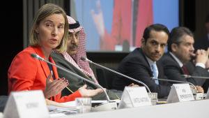Federica Mogherini EU:s utrikeschef