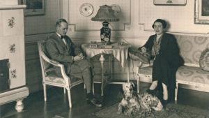Lars Eric och Sylvia Krogius.