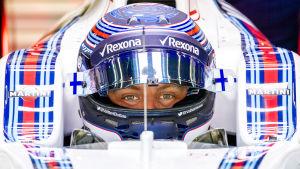 Valtteri Bottas kör för Williams också de kommande två åren.