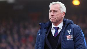 Alan Pardew tränade Crystal Palace i lite mindre än två år.