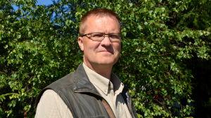 Stefan Pellas är jaktchef i Kust-Österbotten.