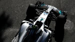 Valtteri Bottas Mercedesbil.