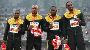 Jamaicas 4x100 meters lag vid OS 2008.