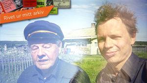 Tomas Janssson med sin pappa