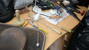 Olika verktyg