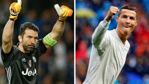 Gianluigi Buffon ställs mot Cristiano Ronaldo i finalen i Cardiff.