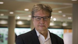 Pekka Sauri valittiin Länsimetro-yhtiön hallitukseen, kuvattu 30.11.2016.