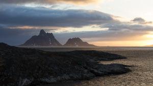 Etelä-Grönlannin rannikkoa.