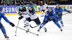 Miikka Salomäki, VM 2014.