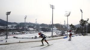 Skidskyttar i Pyeongchang