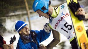 Toni Nieminen gjorde comeback i Lahtis.