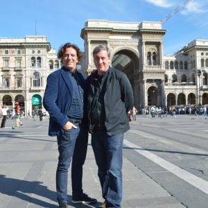 Giorgio Locatelli ja Andrew Graham-Dixon
