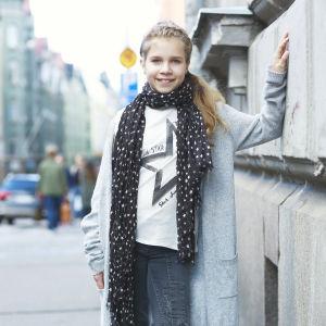 Michelle Sarström, hon är finalist i MGP.