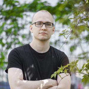 Yle Huvudstadsregionens Petter Blomqvist.