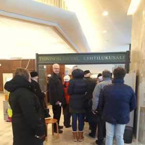 Röstningslokalen i Jakobstad.