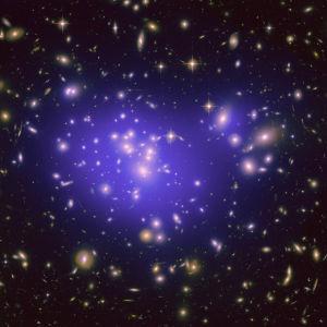 Galaxgruppen Abell 1689