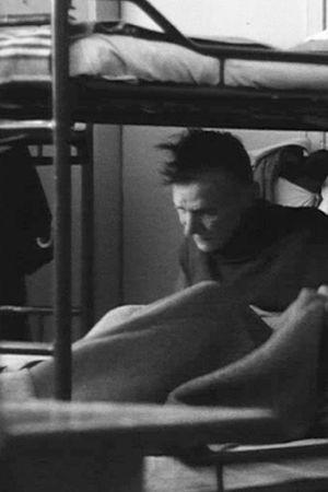 Man i sovsal på natthärbärge, Yle Arkivet 1973