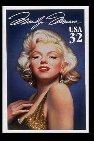 Ett porträtt på Marilyn Monroe