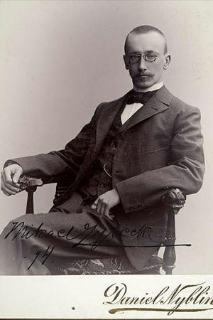 Mikael Lybeck, Fotograf: Daniel Nyblin, 1894