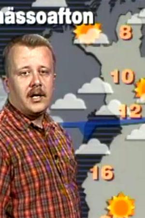 Juha föhr om valborgsvädret, 1990
