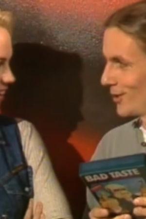 Stefan Randström och Baba Lybeck i talking heads, 1994