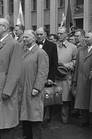 President Urho Kekkonen på statsbesök i Sovjetunionen, 1958
